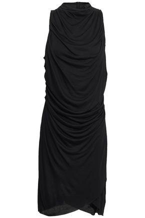 THE RANGE Ruched modal-blend jersey mini dress