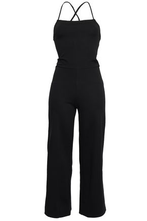 THE RANGE Cropped stretch-jersey jumpsuit