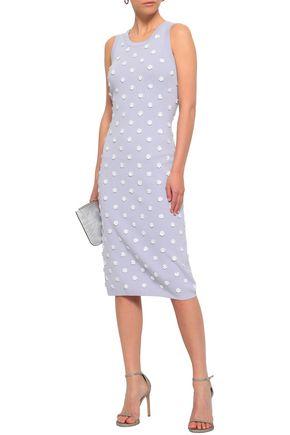 db6691ff6ee2 MICHAEL MICHAEL KORS Floral-appliquéd stretch-knit dress