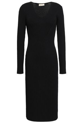MICHAEL MICHAEL KORS Ribbed-knit dress