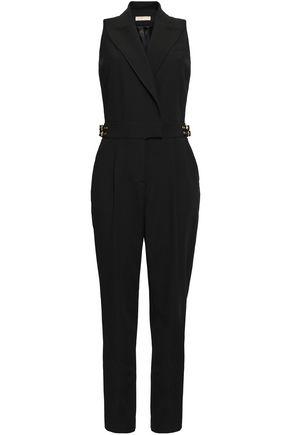 MICHAEL MICHAEL KORS Embellished twill jumpsuit