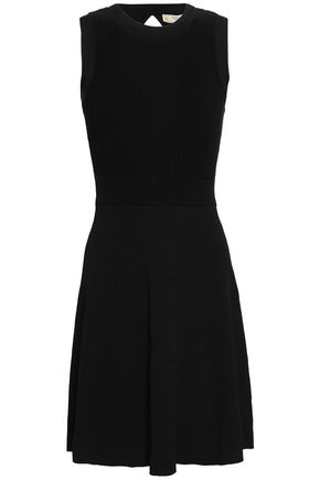 MICHAEL MICHAEL KORS Flared stretch-knit mini dress