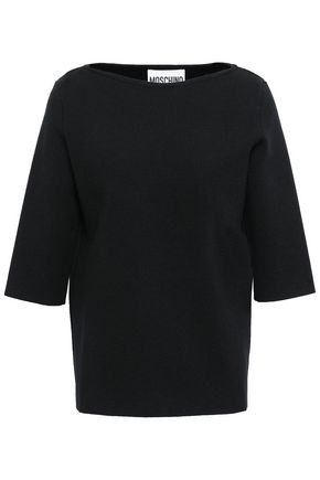 MOSCHINO Wool-ponte top