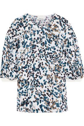 3.1 PHILLIP LIM Printed silk crepe de chine blouse