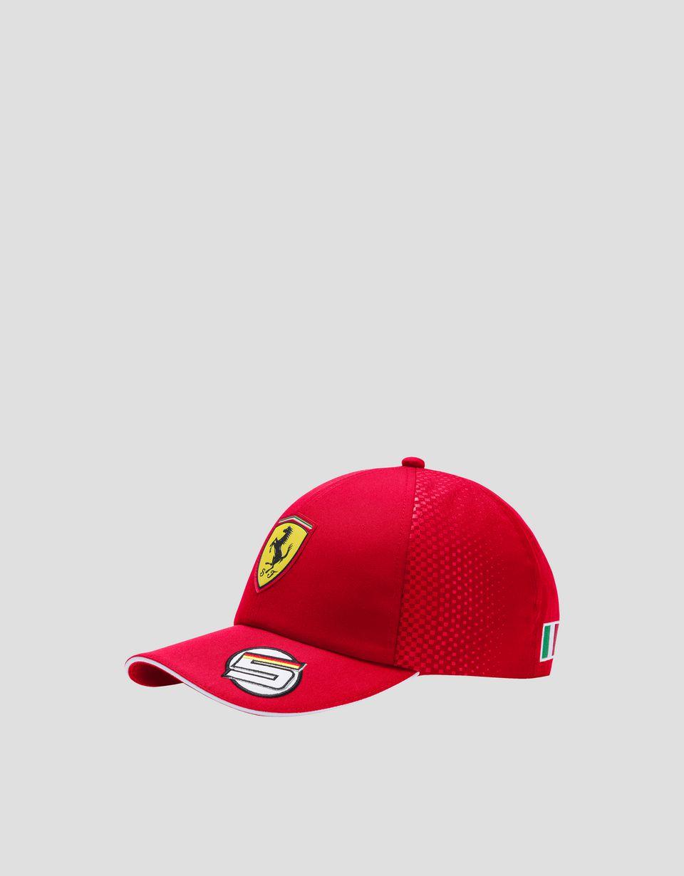 Scuderia Ferrari Online Store - Gorra Vettel Replica 2019 de niño - Gorras de beísbol