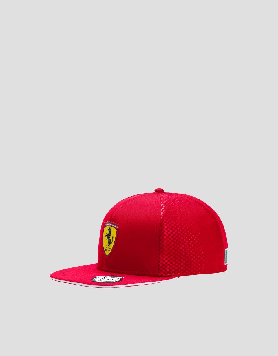 Scuderia Ferrari Online Store - Child's 2019 Leclerc Replica cap - Baseball Caps