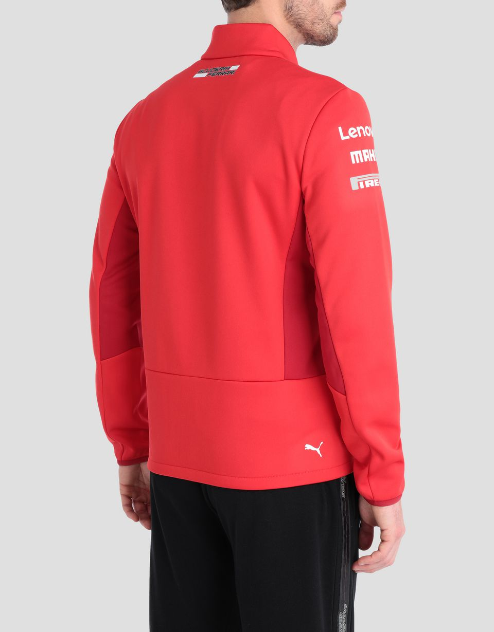Scuderia Ferrari Online Store - Scuderia Ferrari Replica 2019 Softshell jacket - Raincoats