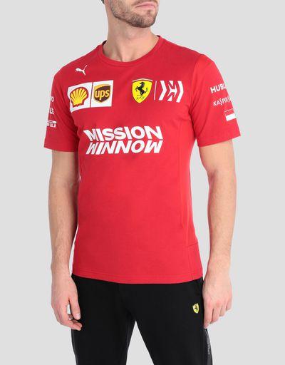 61c3cc40 Ferrari Men's T-shirts | Scuderia Ferrari Official Store