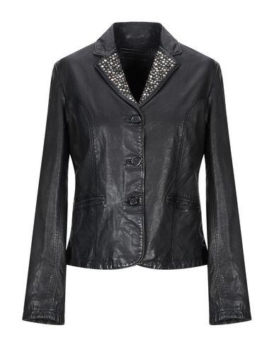 Фото - Женский пиджак MINORONZONI черного цвета