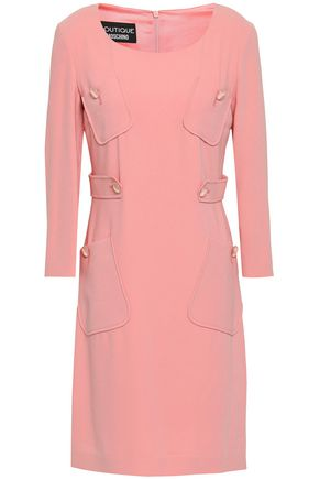BOUTIQUE MOSCHINO Stretch-crepe mini dress