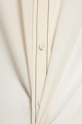 BOUTIQUE MOSCHINO Silk crepe de chine shirt