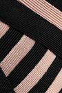 HERVÉ LÉGER Paneled bandage and ponte jumpsuit