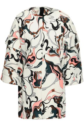 MARNI Printed faille tunic