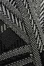 HERVÉ LÉGER Fluted cutout jacquard-knit mini dress
