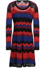 M MISSONI Pointelle-knit mini dress