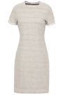 JAMES PERSE Mélange cotton-jersey mini dress