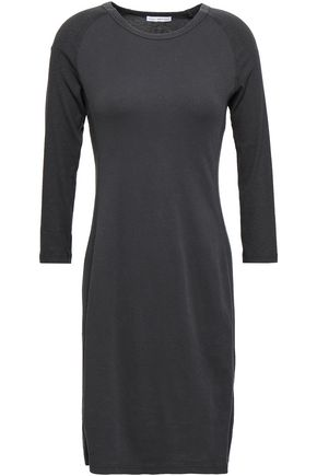 JAMES PERSE Cotton-jersey mini dress