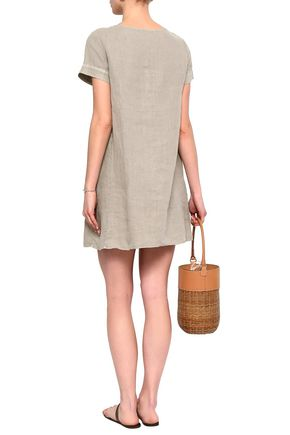 JAMES PERSE Linen mini dress