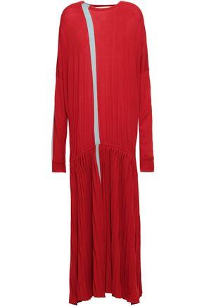 MARNI Intarsia wool maxi dress