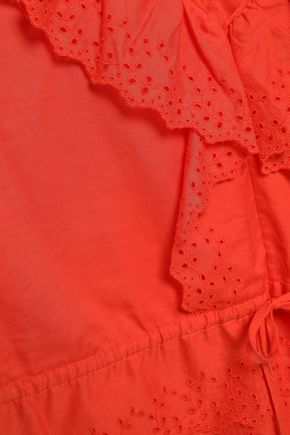 VANESSA BRUNO Giwete broderie anglaise cotton top