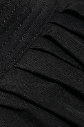 VANESSA BRUNO One-shoulder slub woven top