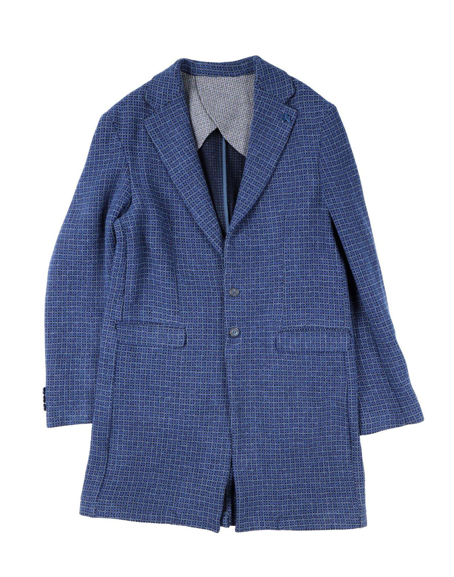 SP1 ボーイズ コート ブルー - ダークブルー