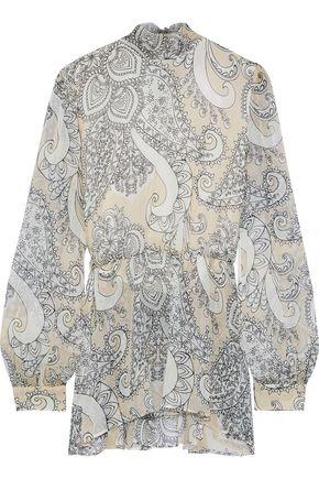 cd6e8f3a6b7b19 MAX MARA Mattia tie-neck printed silk-chiffon blouse