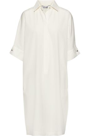MAX MARA Baccano cotton-poplin shirt dress