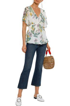 4c499b99cce MAX MARA Pier tie-back floral-print silk-chiffon blouse