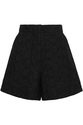 VANESSA BRUNO Broderie anglaise cotton shorts