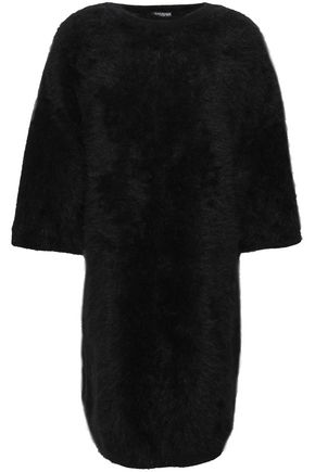 BALMAIN Angora-blend mini dress