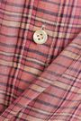 VANESSA BRUNO Checked cotton-blend shirt