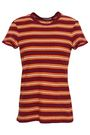 JAMES PERSE Striped cotton-jersey T-shirt
