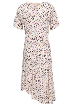 VANESSA BRUNO Printed silk crepe de chine dress