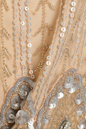 JENNY PACKHAM Embellished tulle top