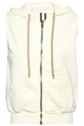DRKSHDW by RICK OWENS Cotton-fleece hooded vest