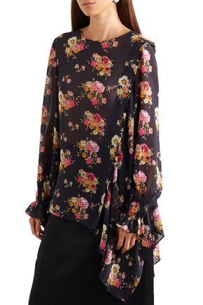 PREEN LINE Sofia floral-print georgette blouse