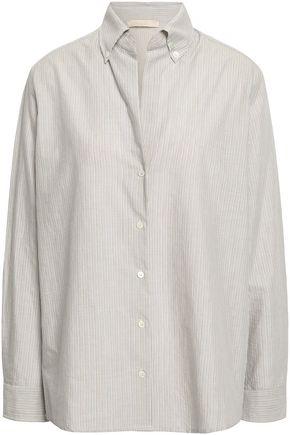VANESSA BRUNO Striped cotton shirt