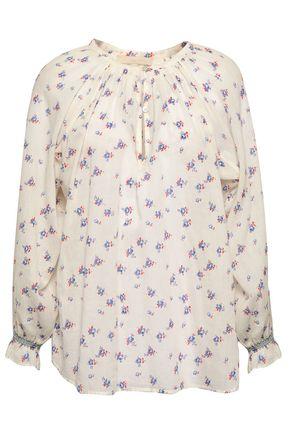 VANESSA BRUNO Floral-print cotton blouse