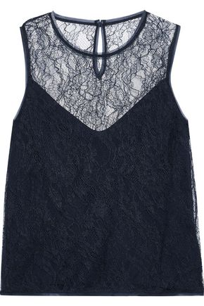 MAX MARA Hiris Chantilly lace top