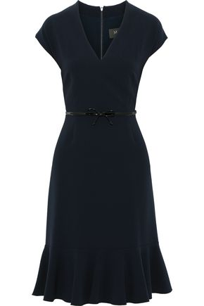 MAX MARA Porta belted crepe dress