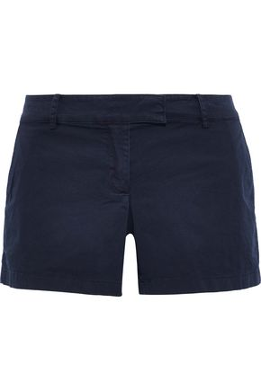 THEORY Bennie stretch-cotton twill shorts