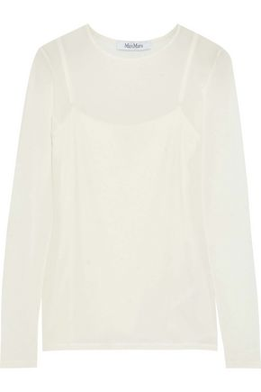 MAX MARA Playa jersey top