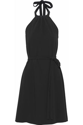 THEORY Nayline crepe halterneck dress