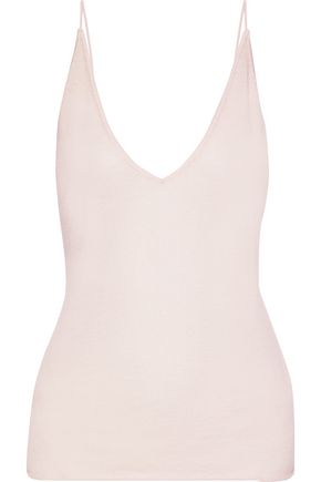 J BRAND Lucy cashmere and silk-blend camisole