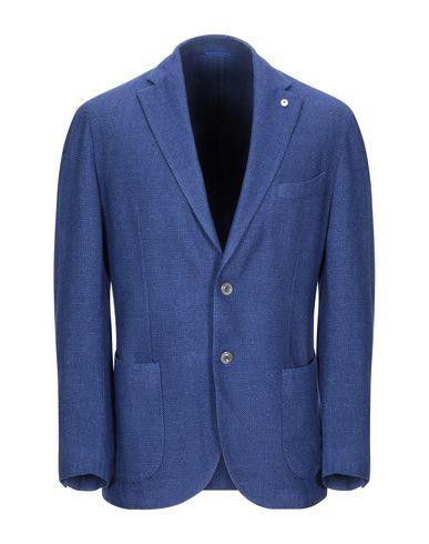Купить Мужской пиджак  синего цвета