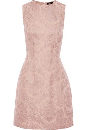 THEORY Hourglass brocade mini dress