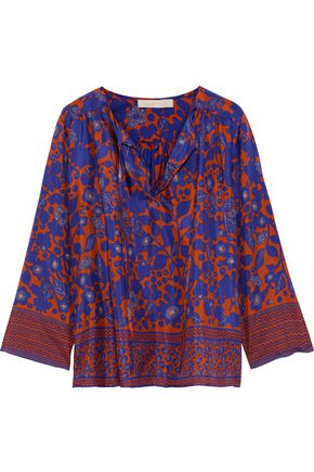 VANESSA BRUNO Printed silk blouse