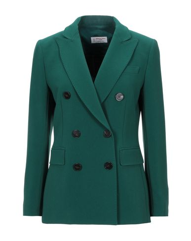 Фото - Женский пиджак ALBERTO BIANI зеленого цвета