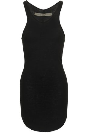 ENZA COSTA Ribbed jersey tank